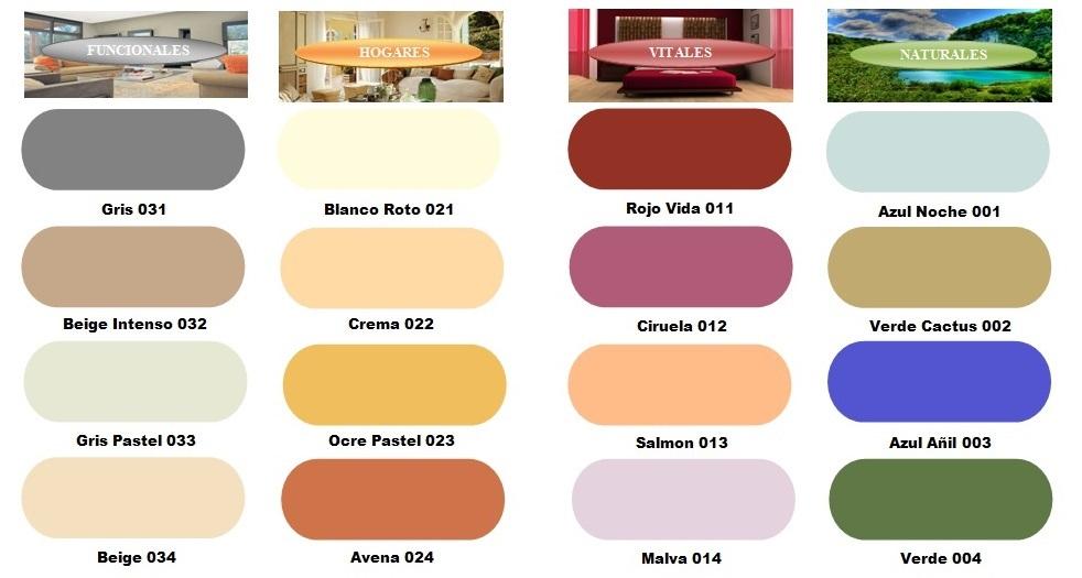 Proyecto mi marca mercapinturas - Nombres de colores de pinturas ...