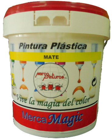 pintura plastica mate merca magic