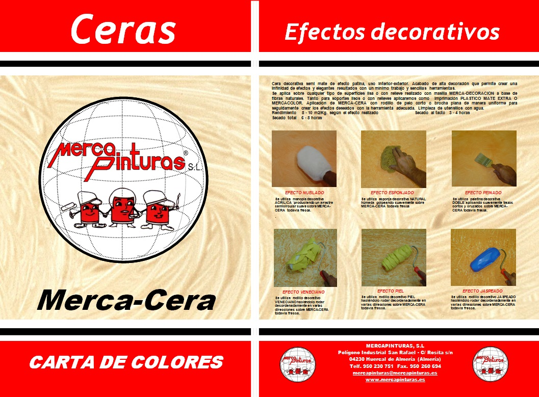 carta de colores mercaceras