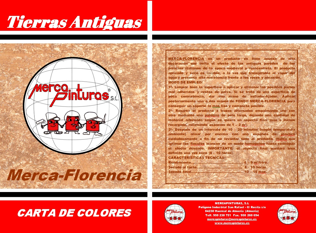 carta de colores mercaflorencia